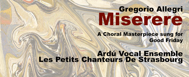 Miserere A Choral Masterpiece City Hall Dublin 14 Apr 2017