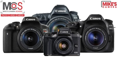 Canon Interchangeable Lens Camera - Pleasant Hill tickets