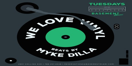 We Love Vinyl w DJ MYKE DILLA@ Basement Bowl tickets