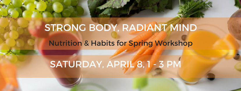 STRONG BODY, RADIANT MIND Nutrition & Habits