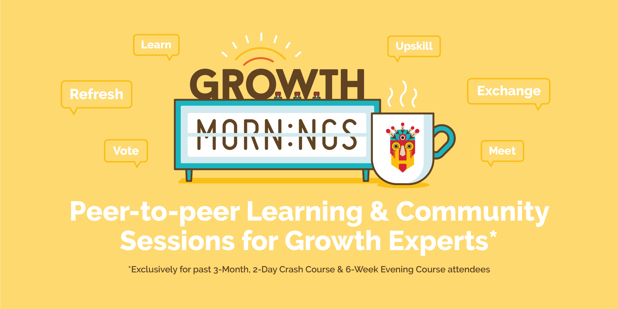 Growth Mornings: We're bringing together the