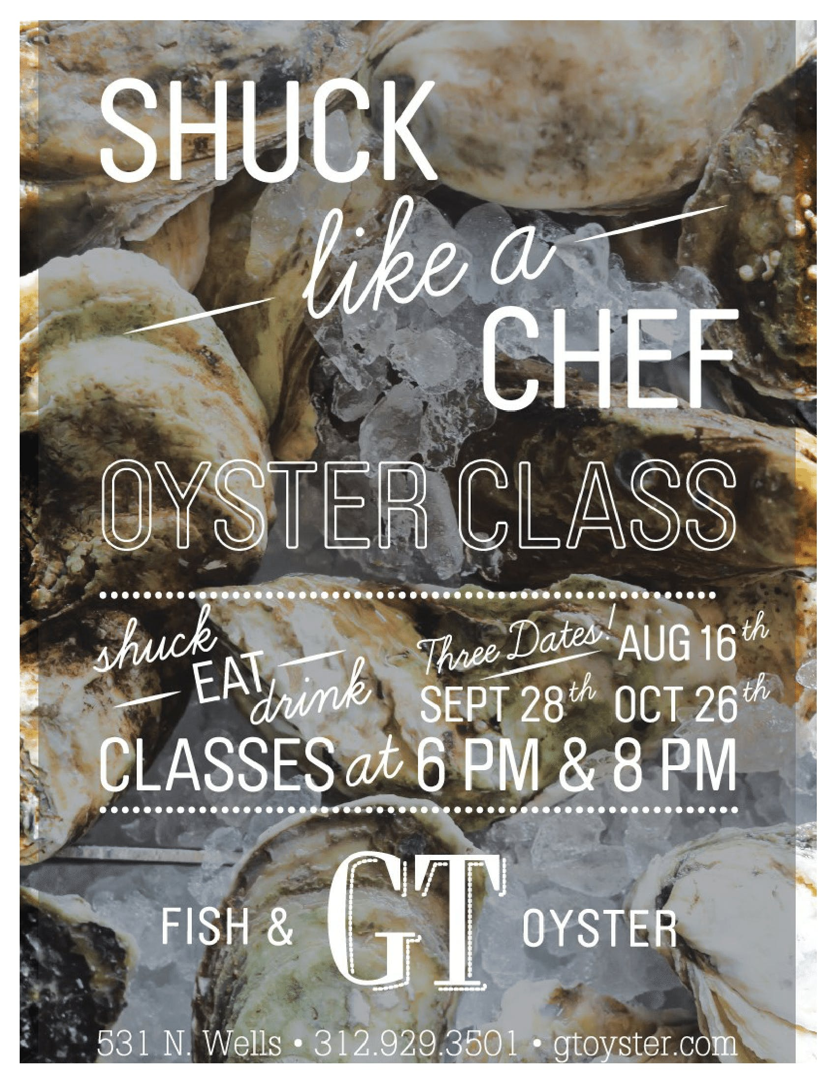 Shuck Like a Chef!