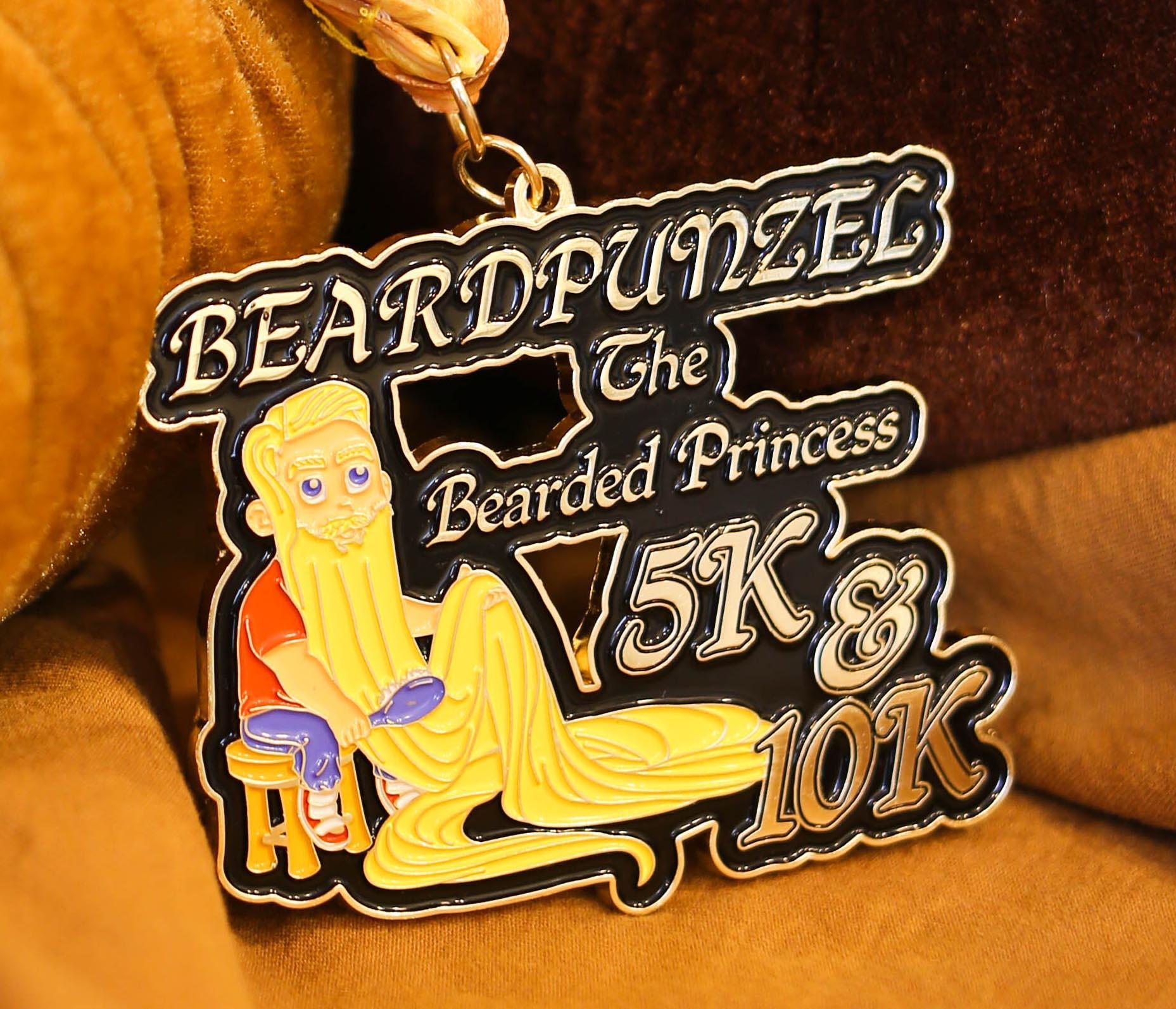 Beardpunzel - The Bearded Princess 5K & 10K -