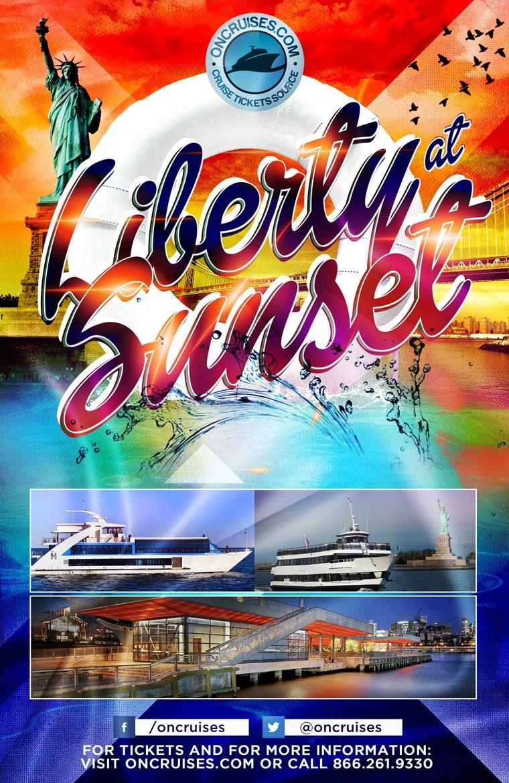 Liberty at Sunset (Oct - Dec).  Liberty at Sunset (Oct - Dec)