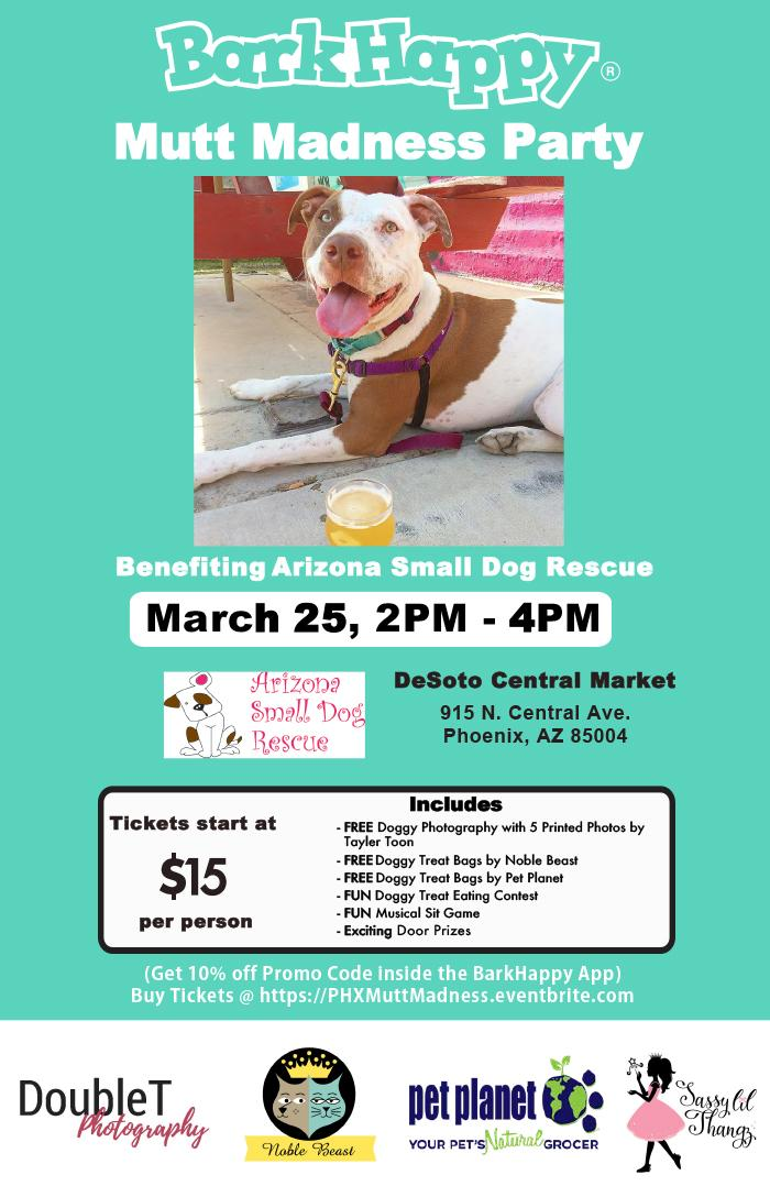 BarkHappy Cincinnati: Mutt Madness Benefiting