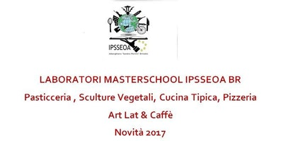 LABORATORI MASTERSCHOOL IPSSEOA BR Sculture vegetali