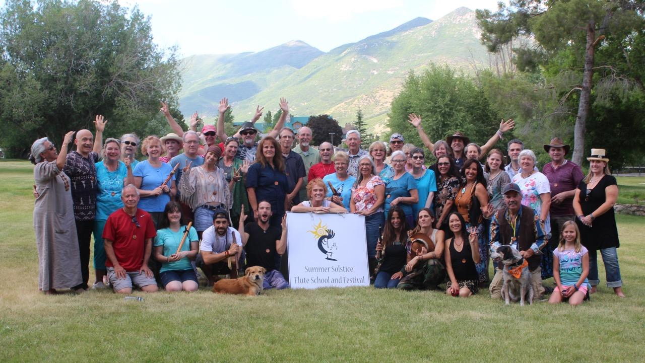 Solstice Native Flute School | Midway, UT | Homestead Resort | June 19, 2017