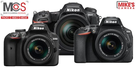 Nikon Interchangeable Lens Camera - CO Springs tickets