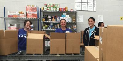 Volunteer at Food Bank of the Rockies w/ Proj