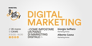 Digital Marketing - Come impostare un piano di...