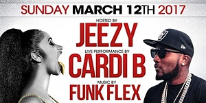 THIS SUN(3/12)! CARDI B & JEEZY LIVE at CLUB...