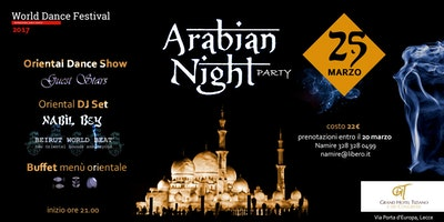 Arabian Night Party 2018