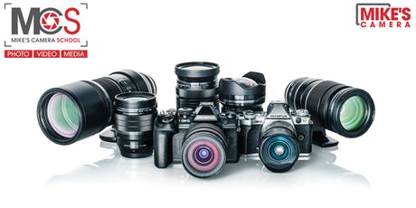 Olympus Interchangeable Lens Camera- Menlo Park tickets
