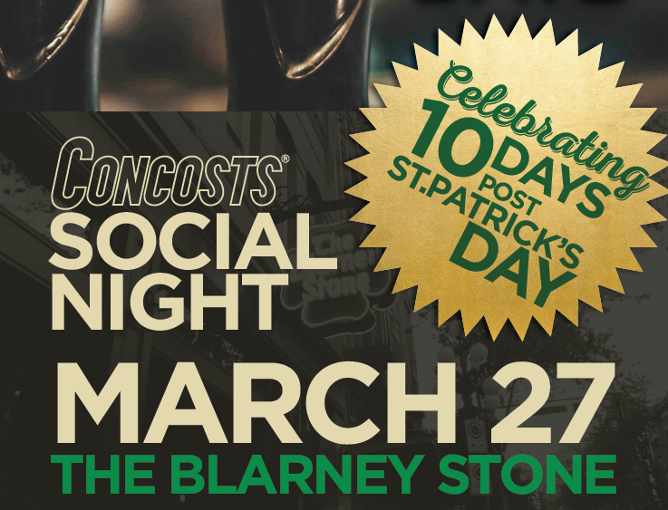 Concosts Social Night @ The Blarney Stone