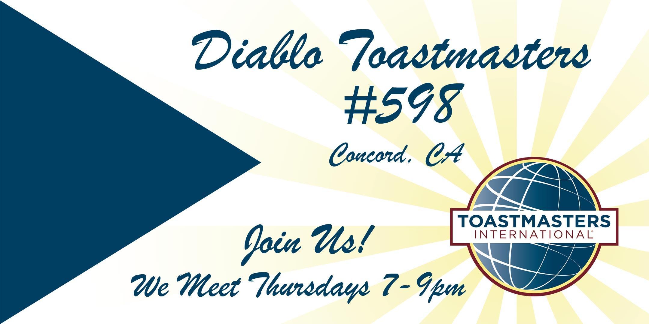 Diablo Toastmasters 598, Concord, CA - Improv