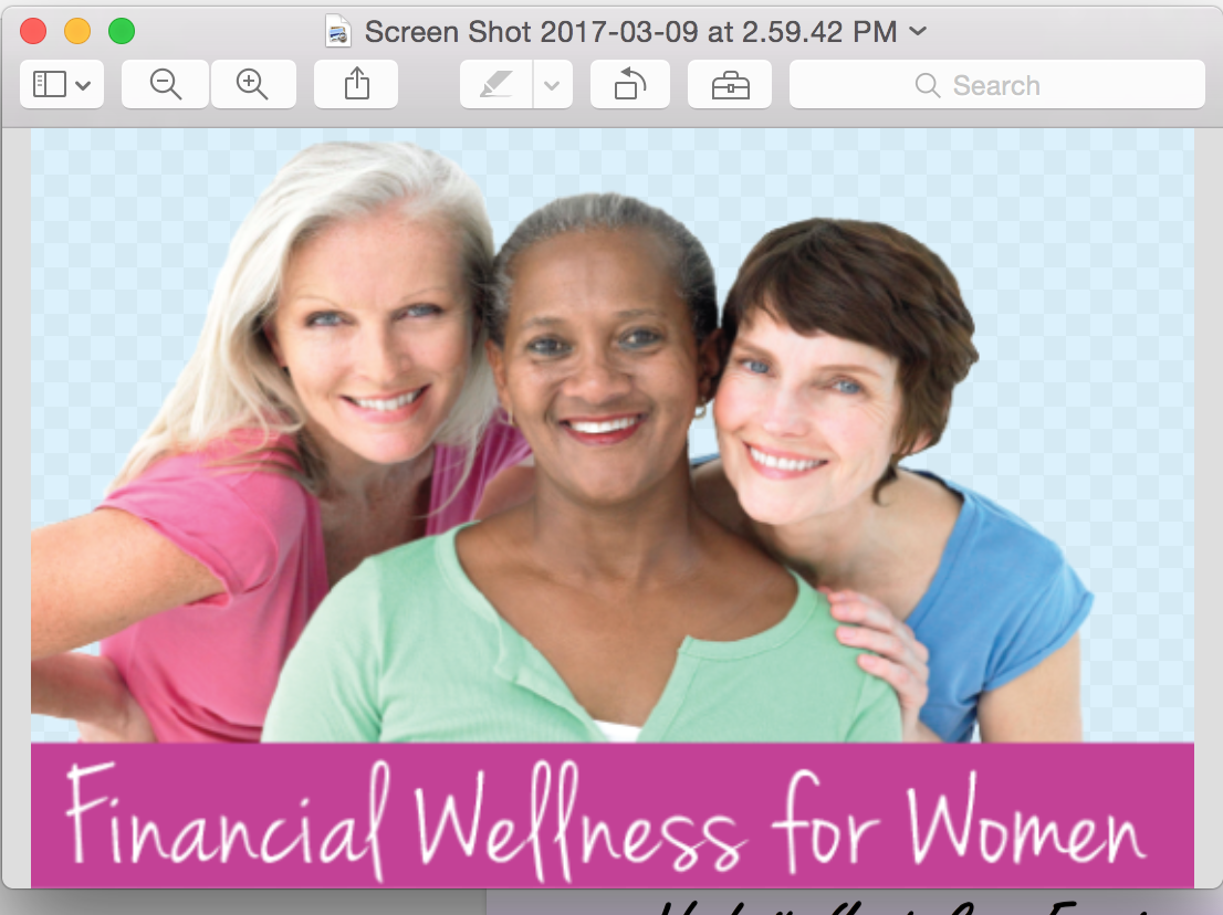 Financial Wellness Seminar for Women Sponsore