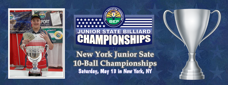2nd Annual New York Junior State 10-Ball Cham