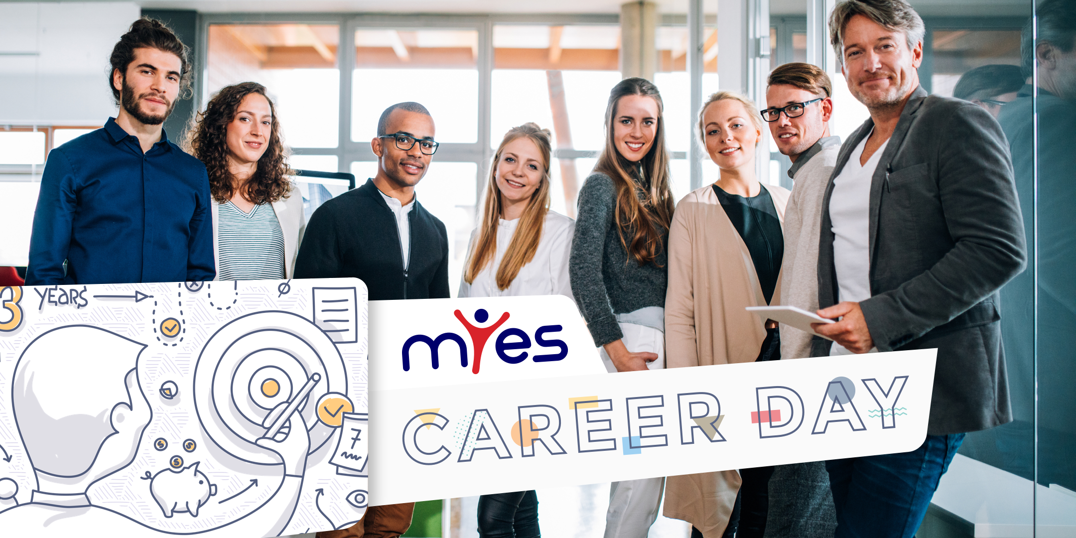 Career Day at Myes CV helpdesk