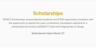 Teen Hackathon (13-17 years only): Prep for WWDC Scholarship #TeenHackathon