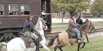 Walkersville Southern Railroad Ride (Jessie James Gang Heist)