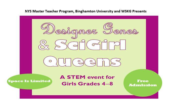 Designer Genes and SciGirl Queens