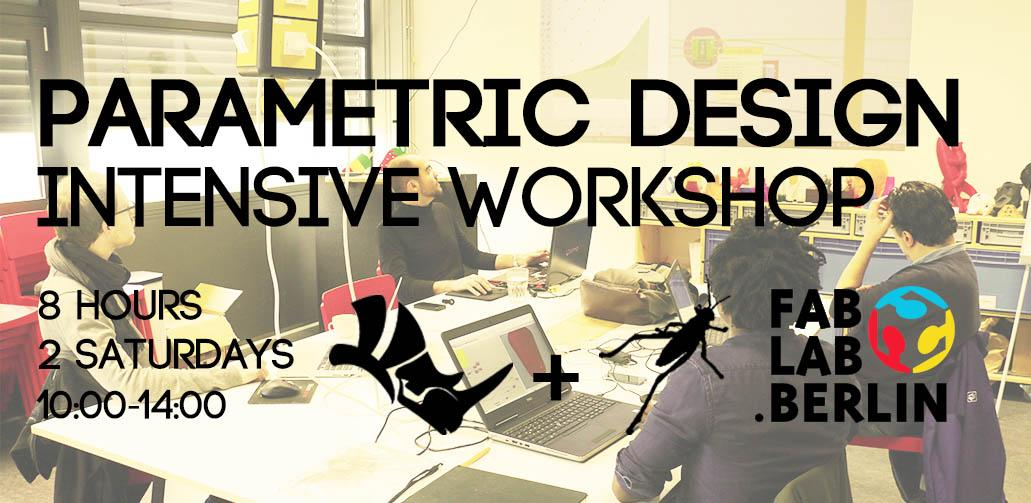 Parametric Design Intensive Workshop - 8 Hour
