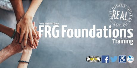 R.E.A.L. Family Readiness Group (FRG) Foundations Training tickets