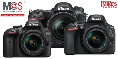 Nikon Interchangeable Lens Camera- Park Meadows tickets