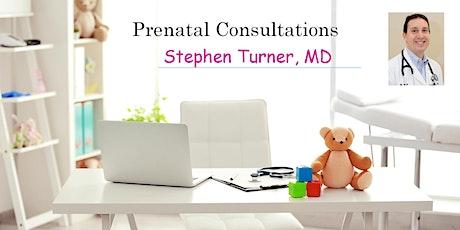 Virtual: Prenatal Consultation - Meet Stephen Turner, MD, Pediatrician tickets