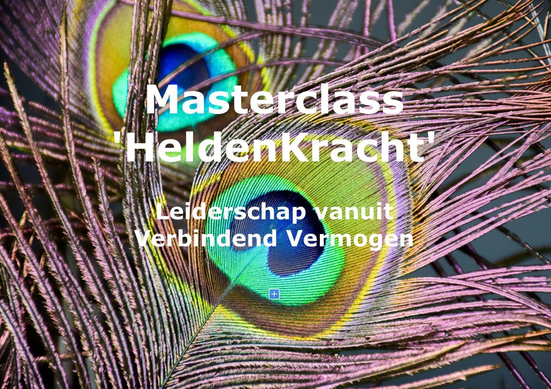 Masterclass 'HeldenKracht'
