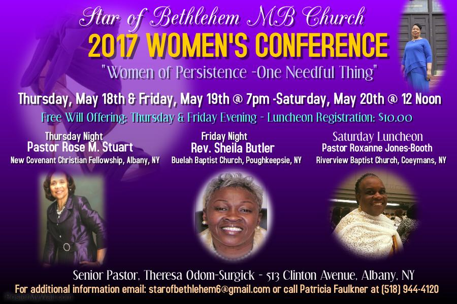 2017 Star of Bethlehem Women's Conference Lun