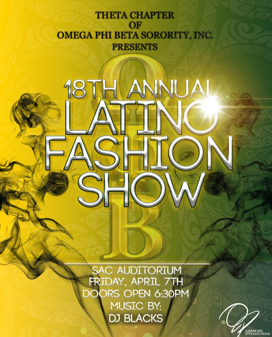 18th Annual Latino Fashion Show & Afterparty