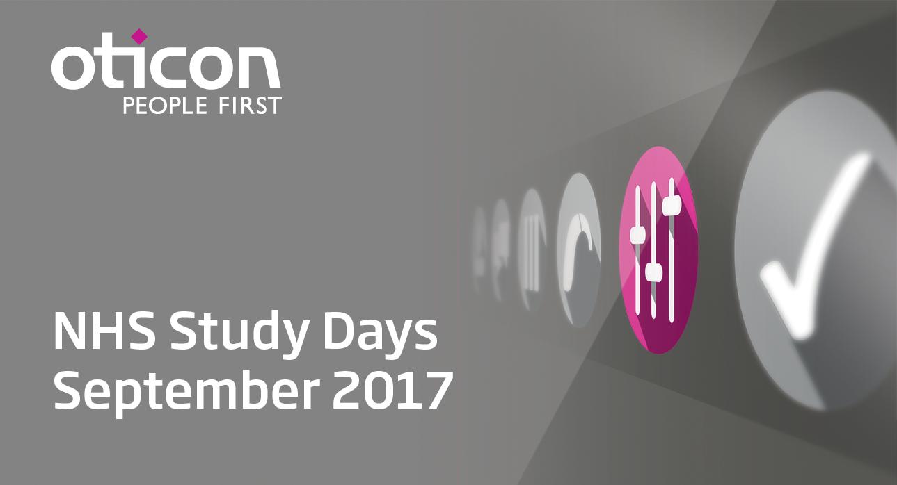 OTICON NHS STUDY DAY - ASHTON VILLAGE HOTEL