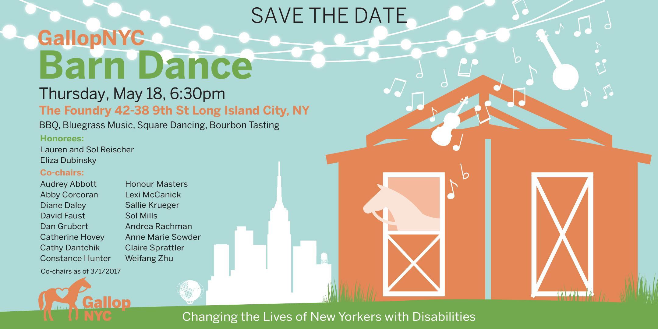 2017 GallopNYC Barn Dance