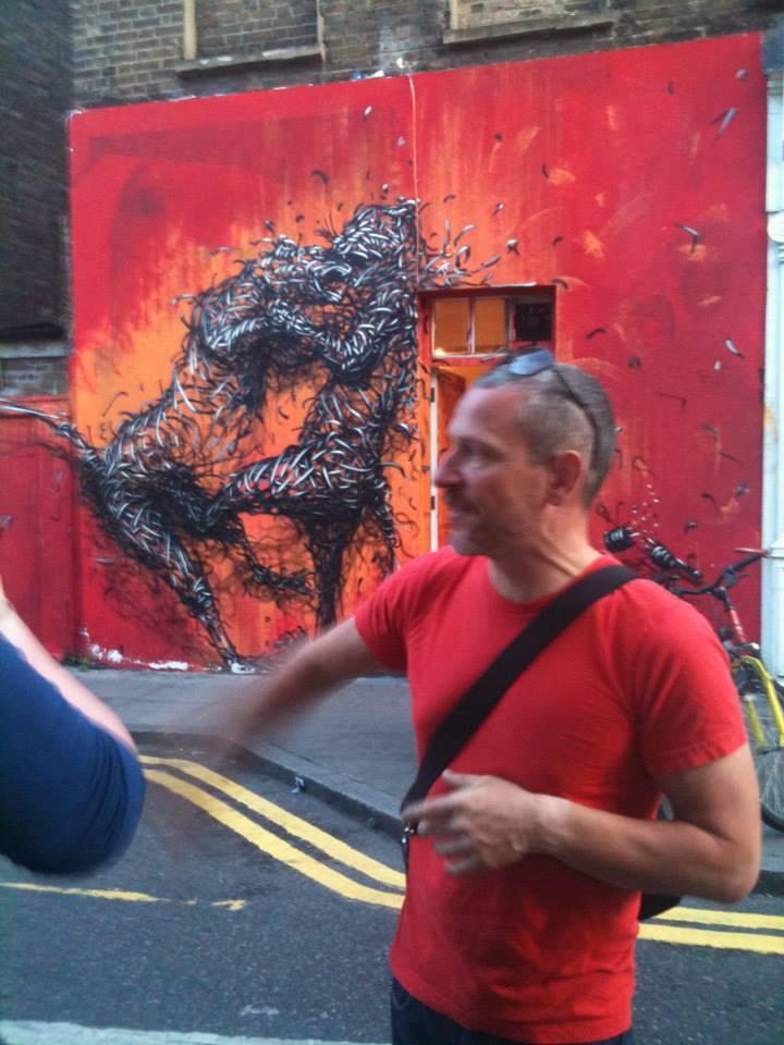 Street Art WALK - E.London (a guided tour)