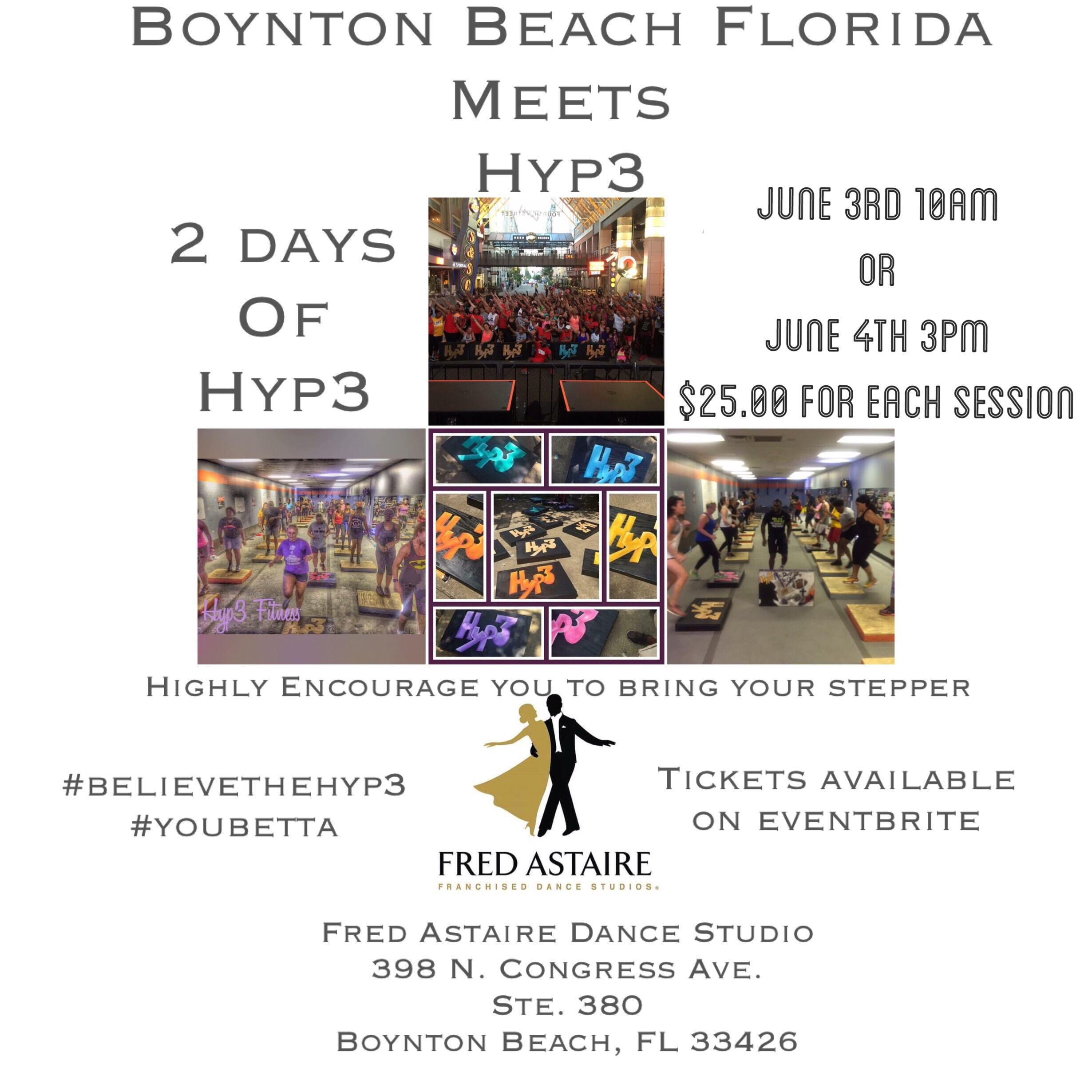 Hyp3 Meets Boynton Beach