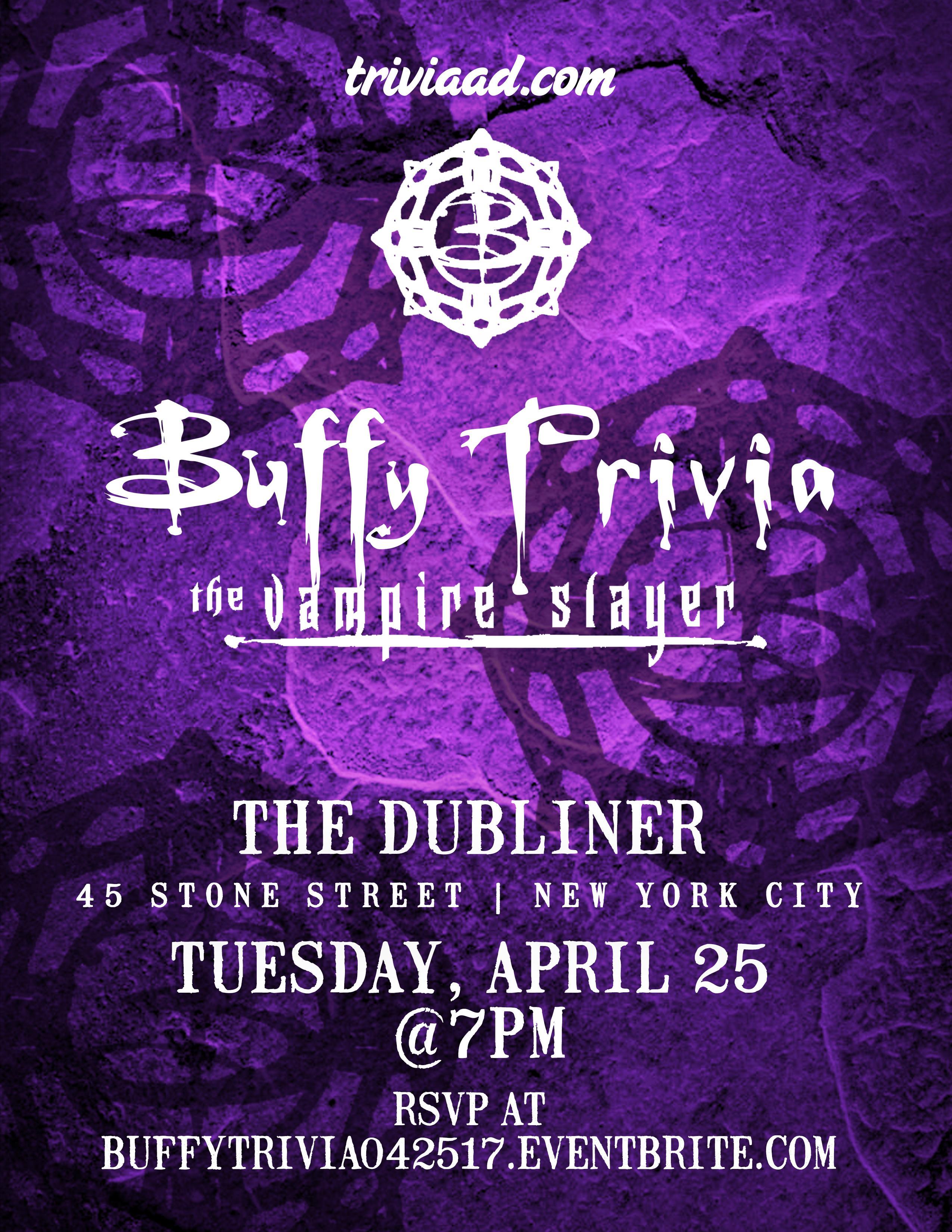 Buffy the Vampire Slayer (TV) Trivia
