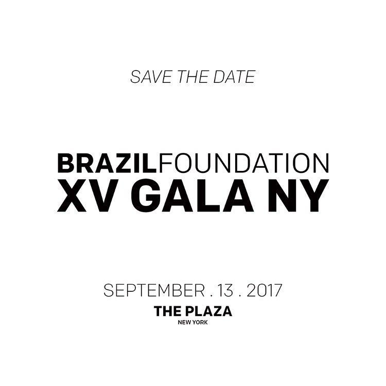 XV BrazilFoundation Gala New York