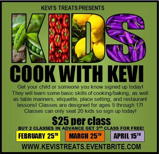 April Kid's Cooking Class