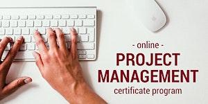 Now Enrolling - Online Project Management Program