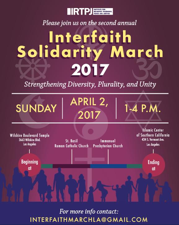 Interfaith Solidarity March 2017