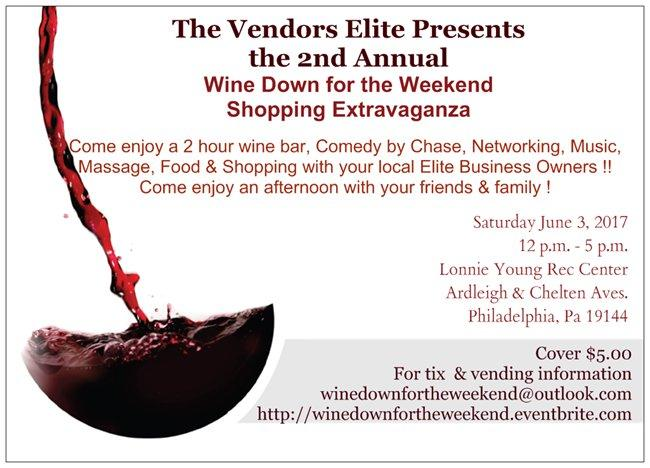 Wine Down for the Weekend Extravaganza. Wine Down for the Weekend Extravaganza
