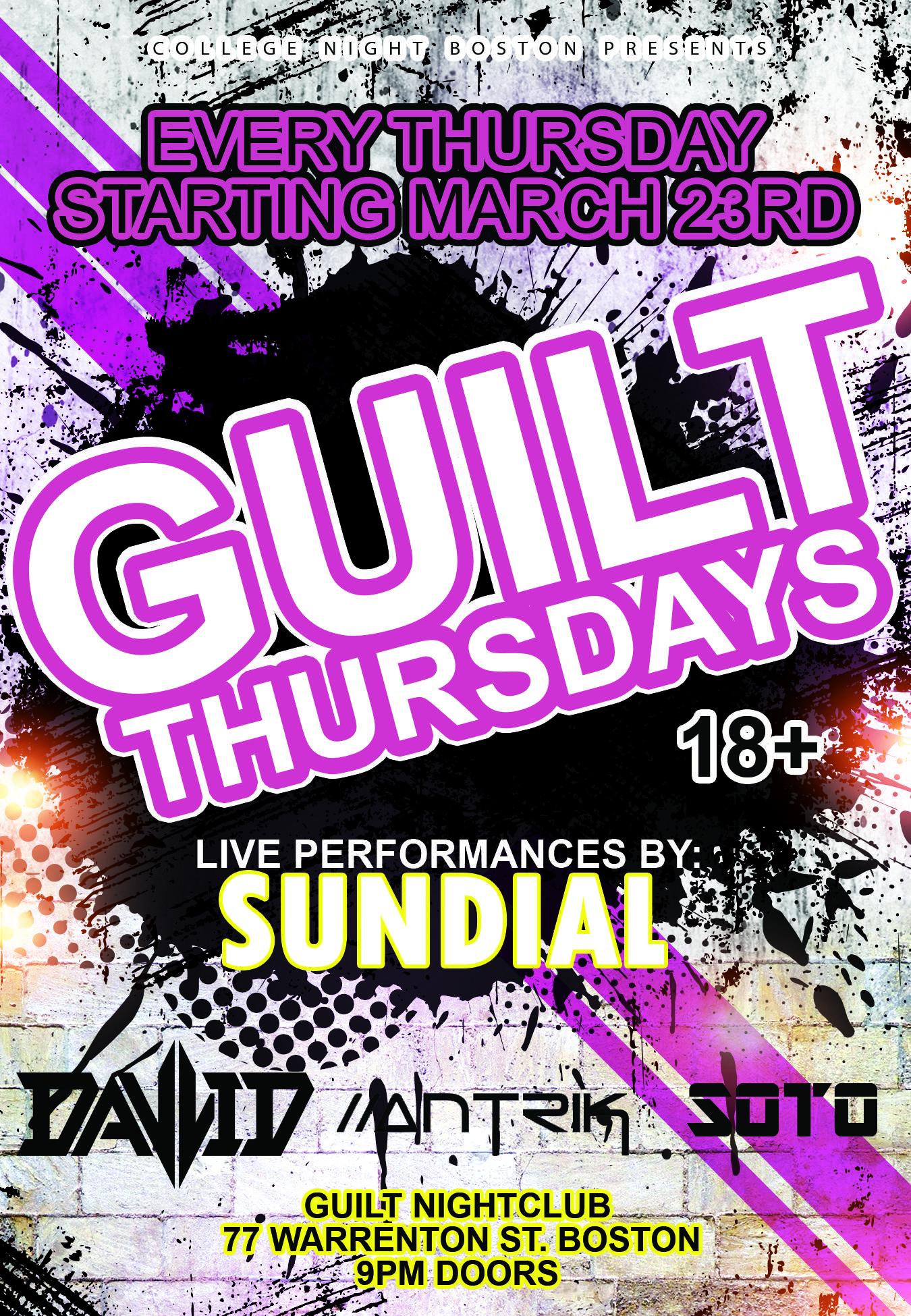 18+ Guilt Thursdays - March 23rd