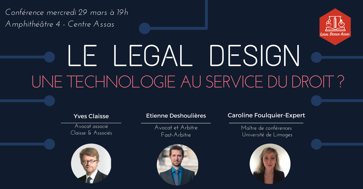 Conférence sur le legal design / Innovation j