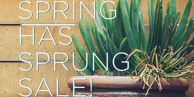 2017 SPRING HAS SPRUNG SALE!
