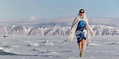 The Woman Who Dances with Icebergs (Amazing Story of Galya Morrell)