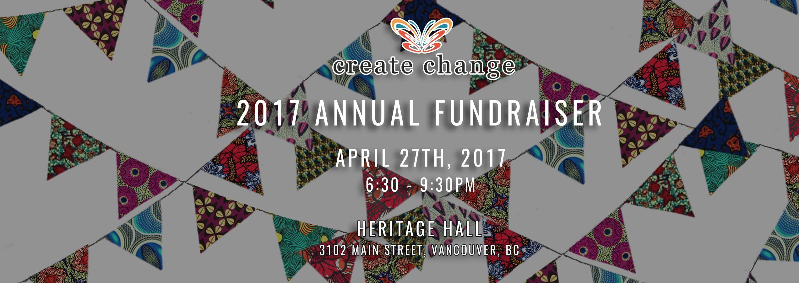 Create Change Annual Fundraiser