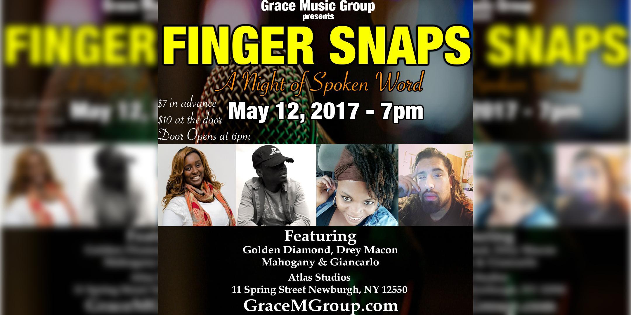 Fingers Snaps: A Night of Spoken Word