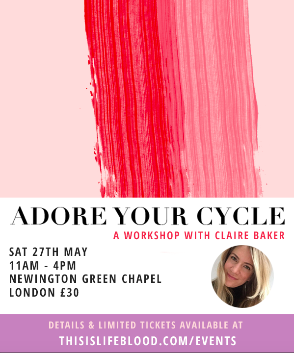 Adore Your Cycle London / Spring Session