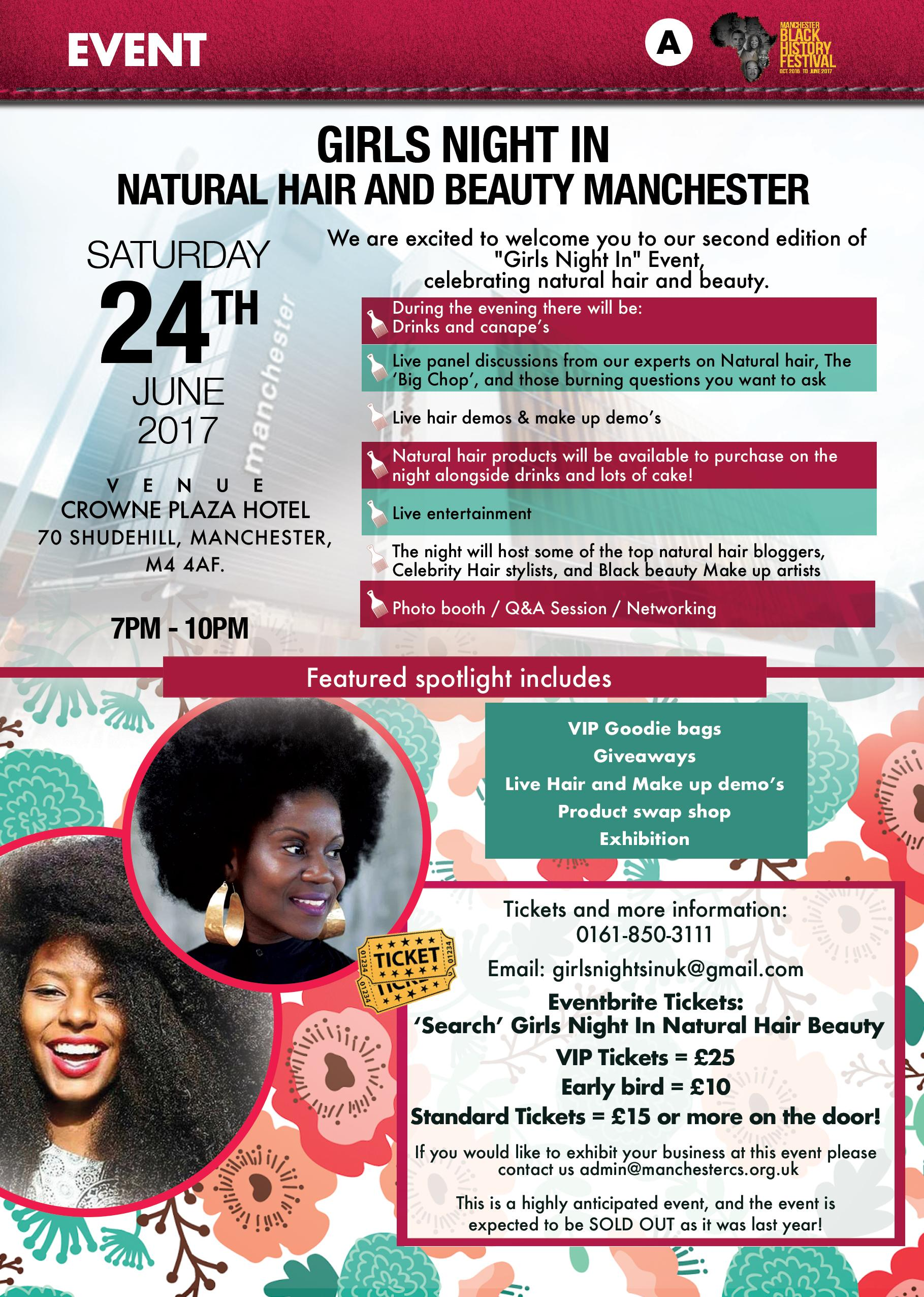 Girls Night In Natural Hair and Beauty Manche